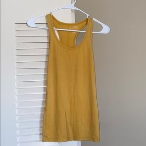 MUSTARD YELLOW TANK TOP